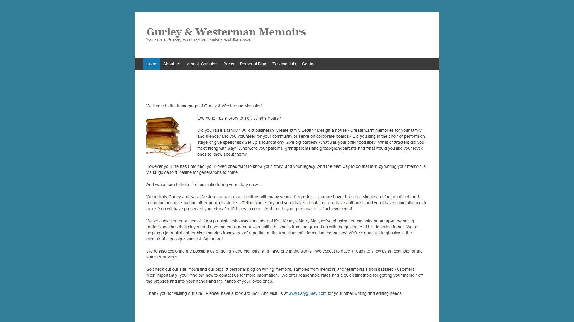 gurleyandwestermanmemoirs.com_